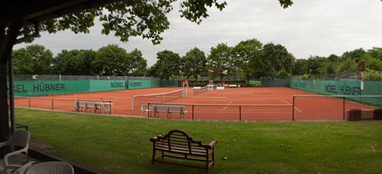 OSC Tennis-Court Vereinsheim-Aussicht